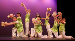 Chinese School dancers in Portland, Maine