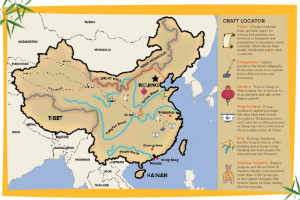 Map from Lucky Bamboo Book of Crafts
