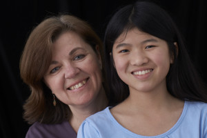Author Jennifer DeCristoforo and daughter; Photo credit: Dennis Welsh Photography