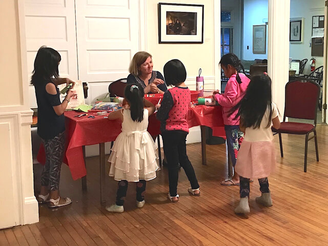 Moon Festival crafts with Jennifer DeCristoforo,